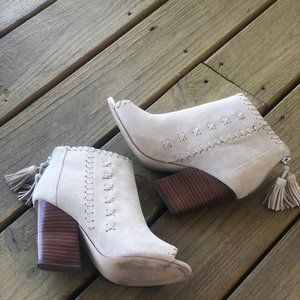 New Marc Fisher Suede Booties